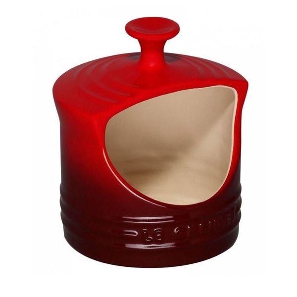 Le Creuset Salt Crock Cherry