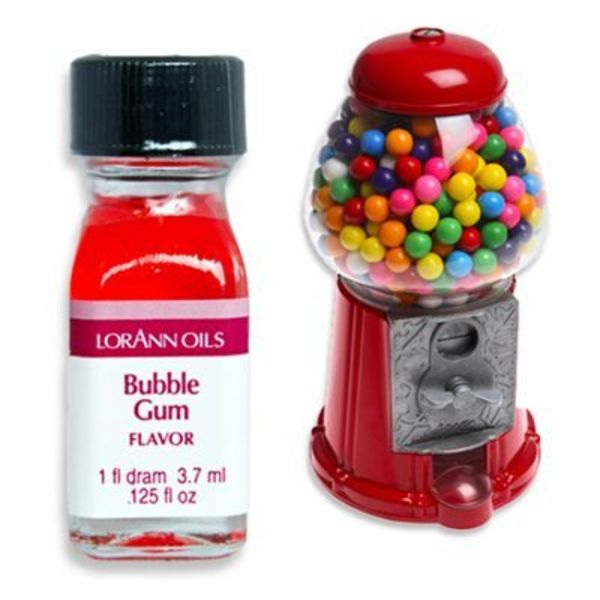 Lorann Oil Bubble Gum Flavour 3,7 ml