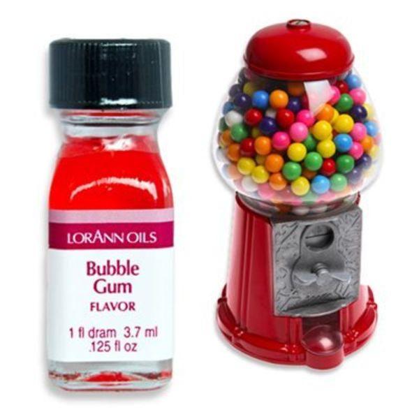 Lorann Oil Bubble Gum Flavour 3,7 ml