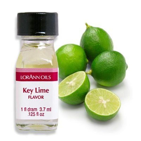 Arôme en huile citron vert 3,7 ml de Lorann Oil