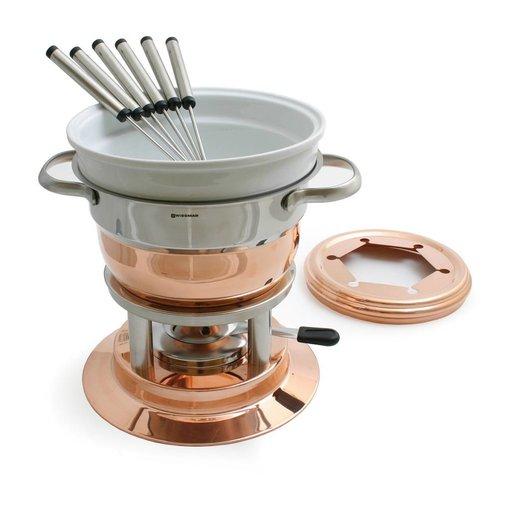 Swissmar Swissmar Lausanne 11 Piece Copper Fondue Set
