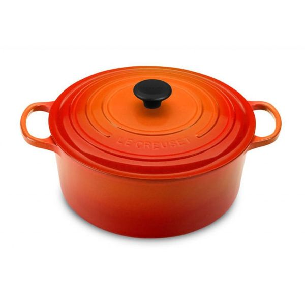 Le Creuset 8.1L Round French Oven Flame