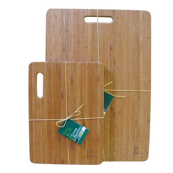 Planche à découper avec poignée de Green Bamboo 33 cm x 23 cm