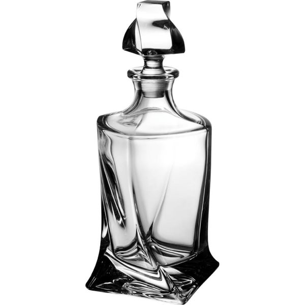 Trudeau Quadro Whisky Decanter