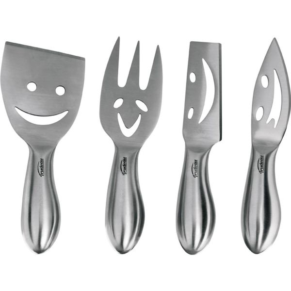 Trudeau Set of 4 Cheese Knives
