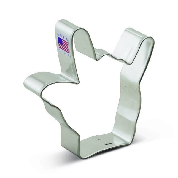 Ann Clark Cookie Cutter Hand Love Sign 3.75''