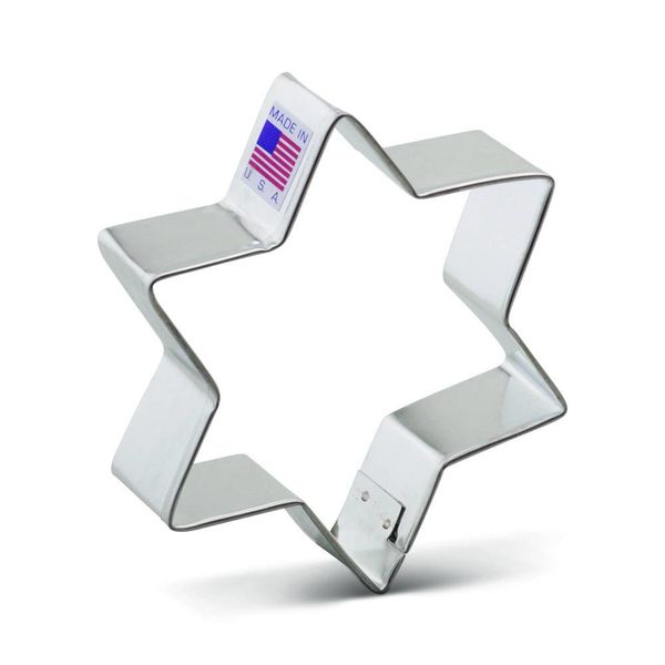 Ann Clark Cookie Cutter Star 6 Points  3''