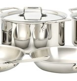 All-Clad All-Clad Polished D5 10 Piece Set