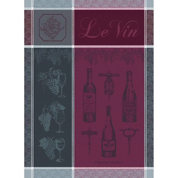 Linge à vaisselle Vin de Garnier-Thiebaut