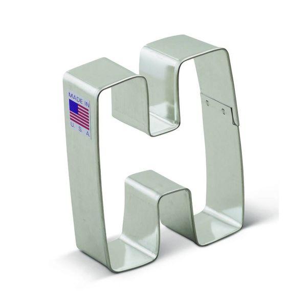 """Emporte-pièce lettre h 3"""""""