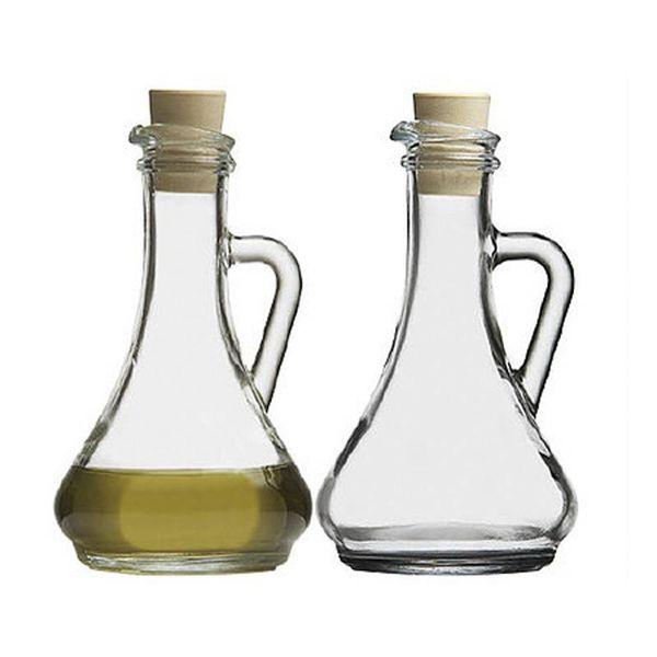 """Ensemble de bouteilles d'huile et vinaigre """"Basic Clara"""""""