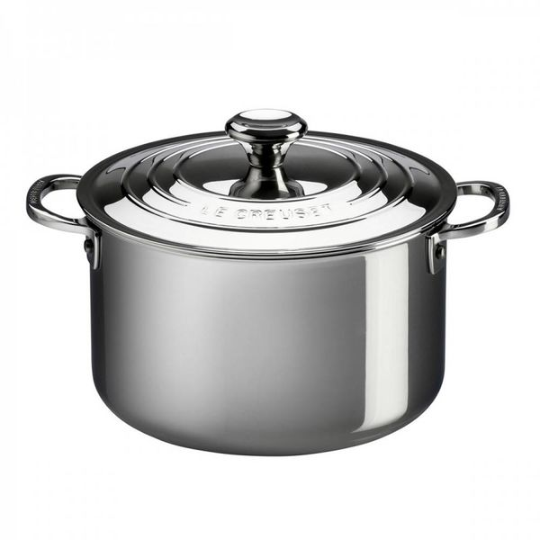 Le Creuset 6.6L Stainless Steel Stockpot