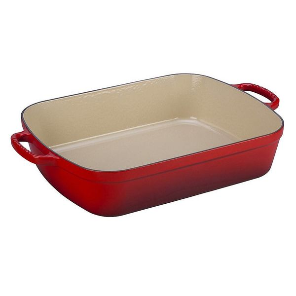Le Creuset 4.9L Rectangular Roaster Cherry