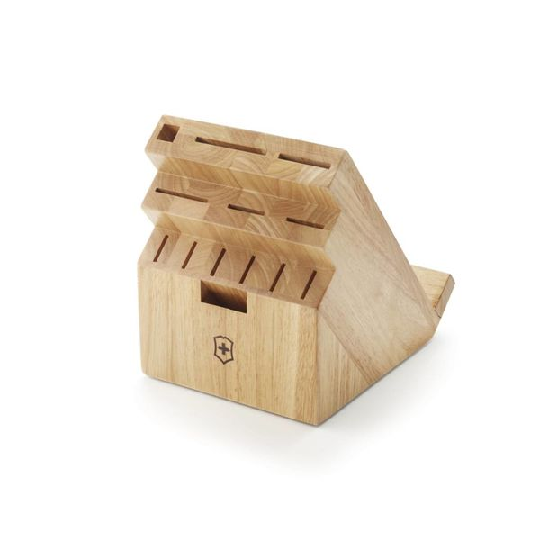 Victorinox 13 Slot Light Wood Swivel Block