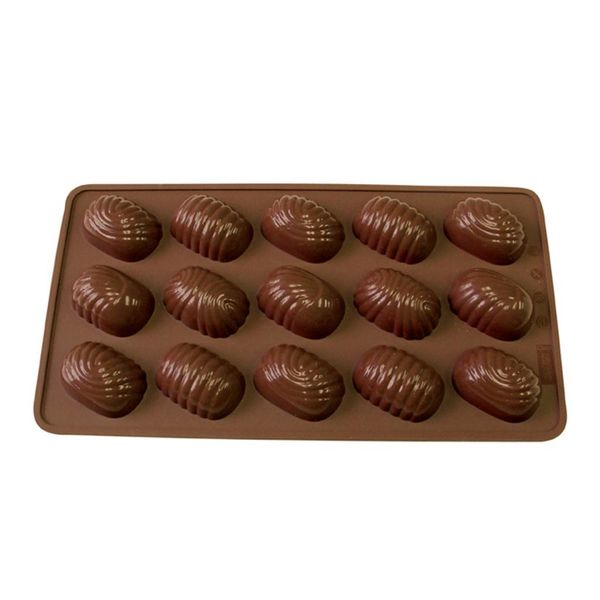La Pâtisserie Silicone Chocolate Oval Swirls Mold