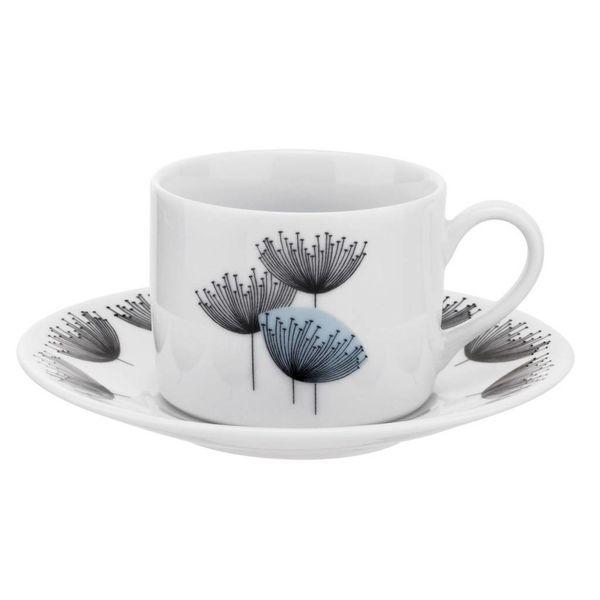 "Portmeirion ""Dandelion Clocks"" Teacup and Saucer Set"