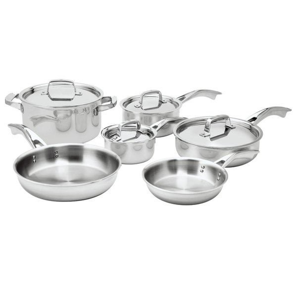 Henckels TruClad 10 Piece Cookware Set