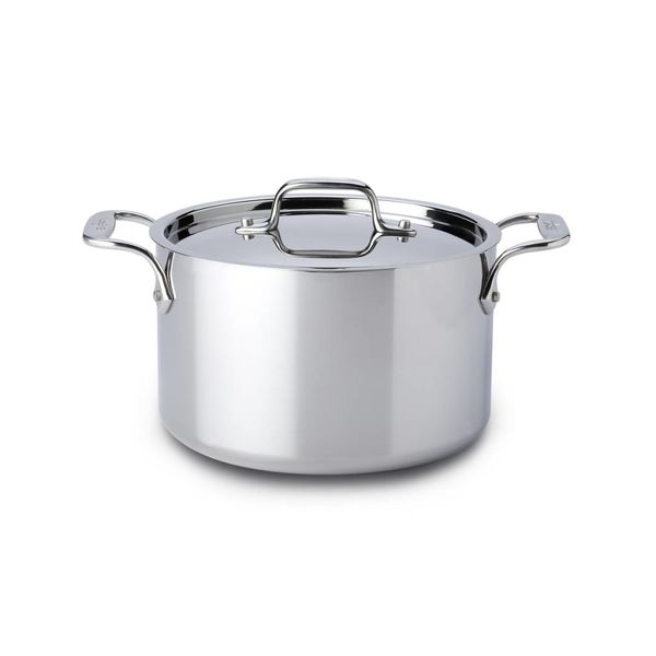 All-Clad Stainless Steel Casserole with Lid 3,8 L
