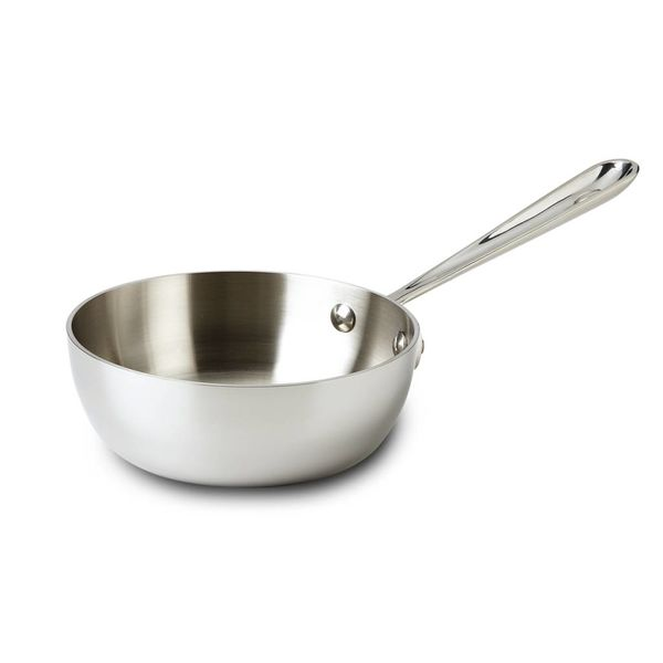 All-Clad 1L Stainless Steel Saucier Pan