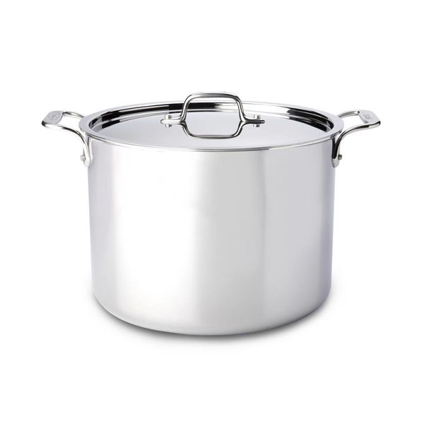All-Clad Stainless Steel Stock Pot with Lid 11,4 L