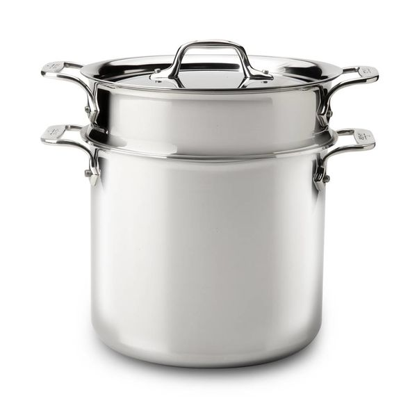 All-Clad 6.6L Stainless Steel Pasta Pentola with Lid