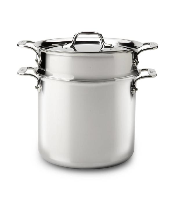 All-Clad All-Clad 6.6L Stainless Steel Pasta Pentola with Lid
