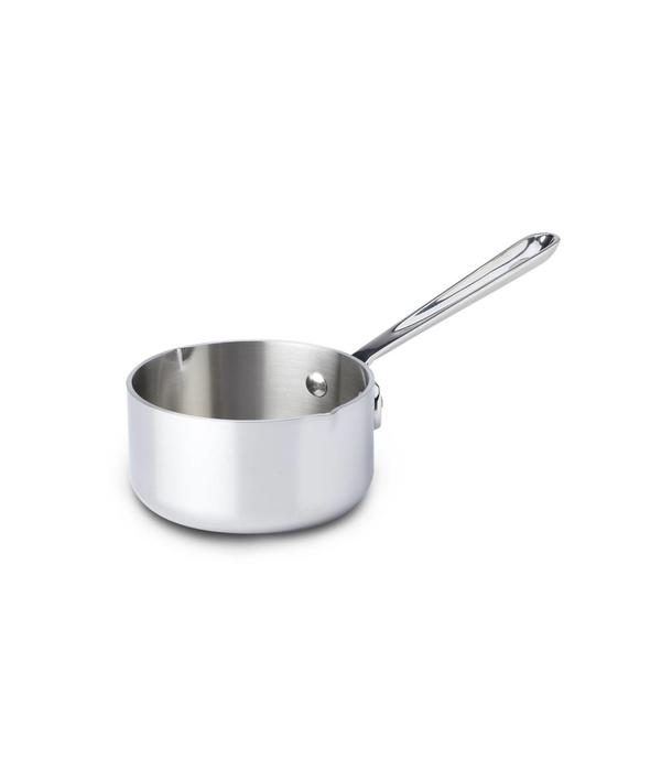 All-Clad All-Clad 0.5L Stainless Steel Butter Warmer with pour spouts