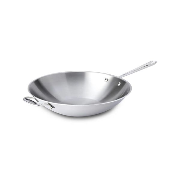 All-Clad 36 cm Stainless Steel Open Stir Fry