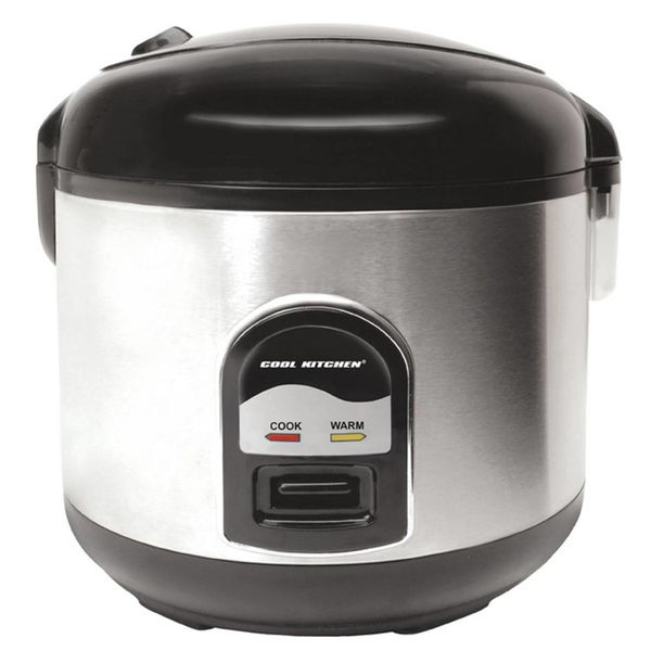 Cool Kitchen Pro Stainless Steel Deluxe Ricer Cooker and Steamer