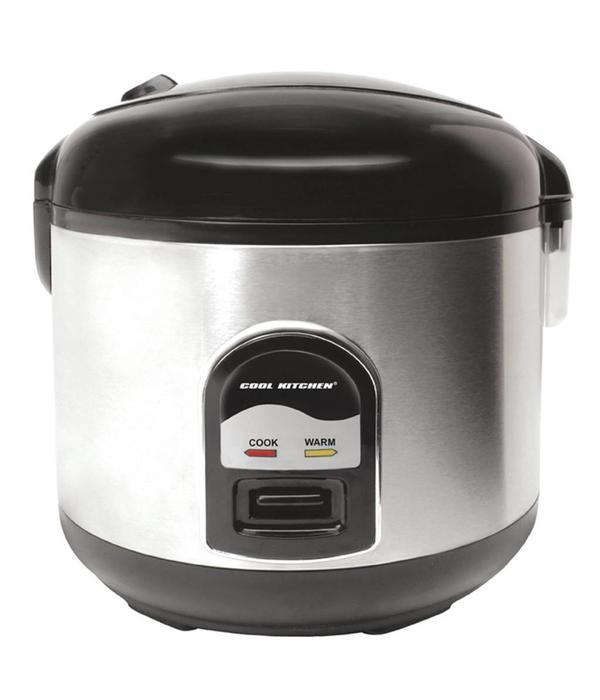 Orly Cuisine Cuiseur à riz et étuveuse déluxe de Cool Kitchen Pro