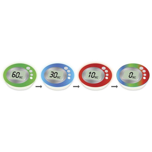 Escali Colorfun Luminous Digital Timer