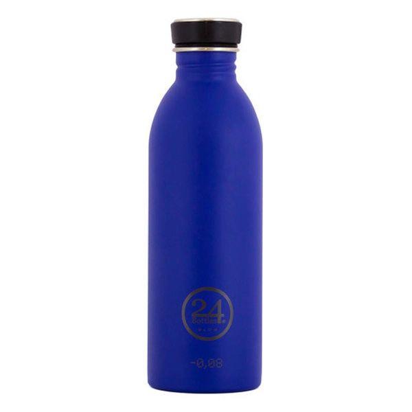 Bouteille à eau bleu doré urbain de 500 ml