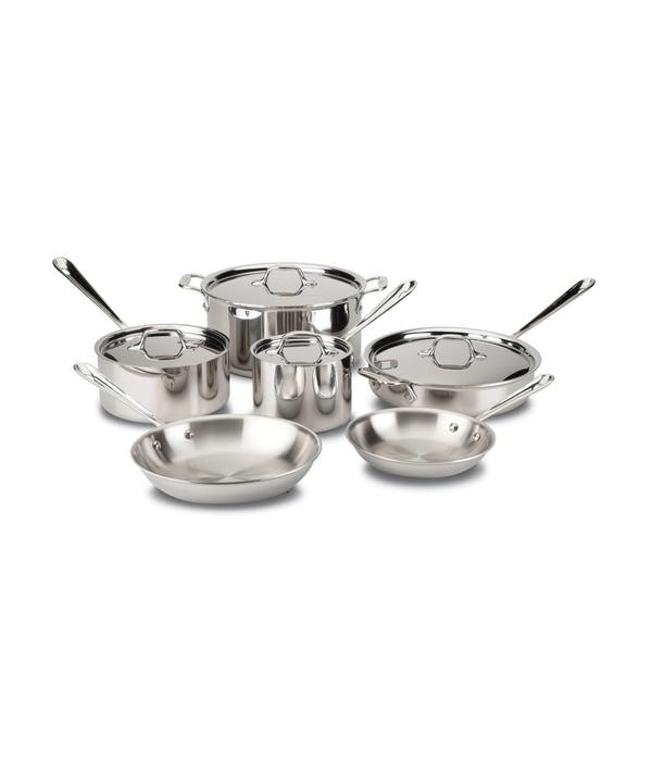 All-Clad All-Clad Stainless Steel 10-Piece Set