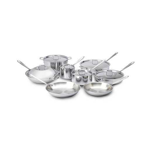 All-Clad All-Clad Stainless Steel 14-Piece Set