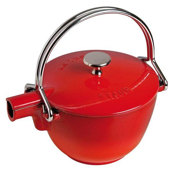 Staub Teapot 1.1 L Cherry