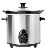 Orly Cuisine Cool Kitchen Pro Stainless Steel Slow Cooker