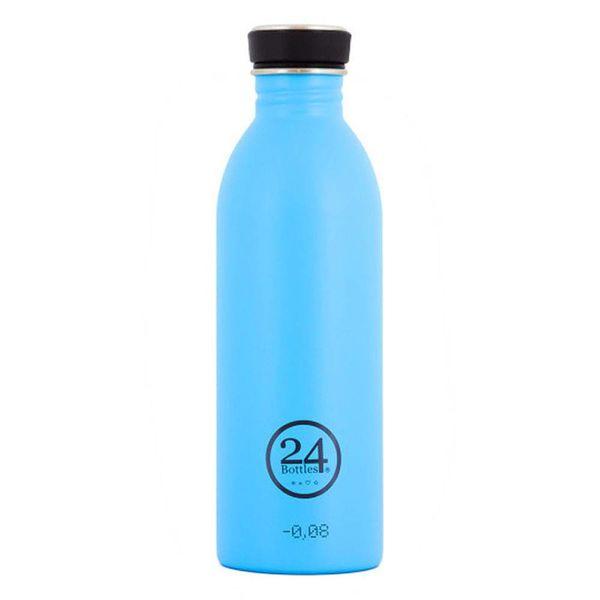 Bouteille à eau bleu lagon urbain de 500 ml