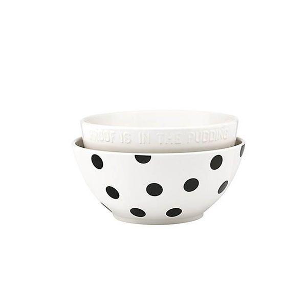 Kate Spade Deco Dot Mixing Bowls