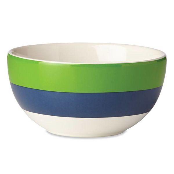 Kate Spade Rainey Stripe Fruit Bowl
