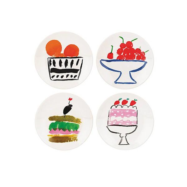"Plats de dégustation ""Pretty Pantry"" de Kate Spade"