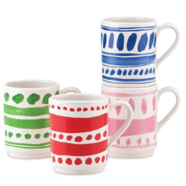 "Tasses empilables ""Pretty Pantry"" de Kate Spade"