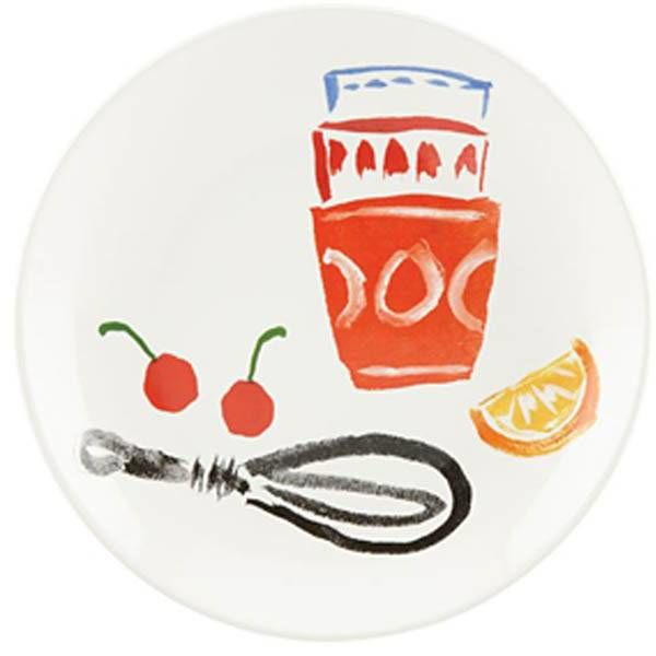 Kate Spade Pretty Pantry Accent Plate