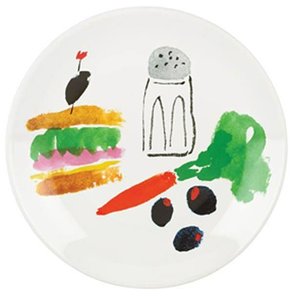Kate Spade Pretty Pantry Sandwich Accent Plate