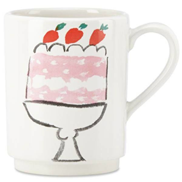 Kate Spade Pretty Pantry Cake Accent Mug