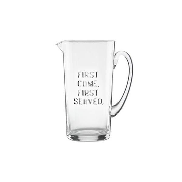 "Kate Spade ""First Come, First Served"" Pitcher"