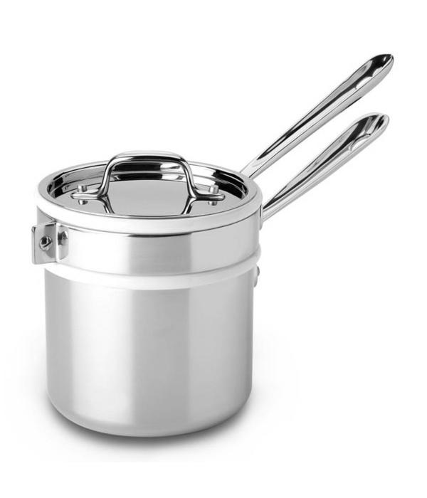 All-Clad All-Clad Stainless Steel Double Boiler with Porcelain Insert