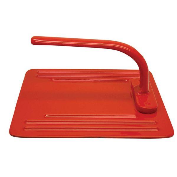 Presse panini en fonte émaillée de Le Cuistot 20 cm / Rouge