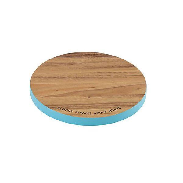 "Kate Spade ""Almost Always Above Board"" Round Cutting Board"