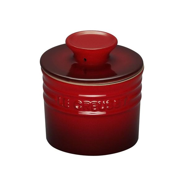 Le Creuset Butter Crock Cherry