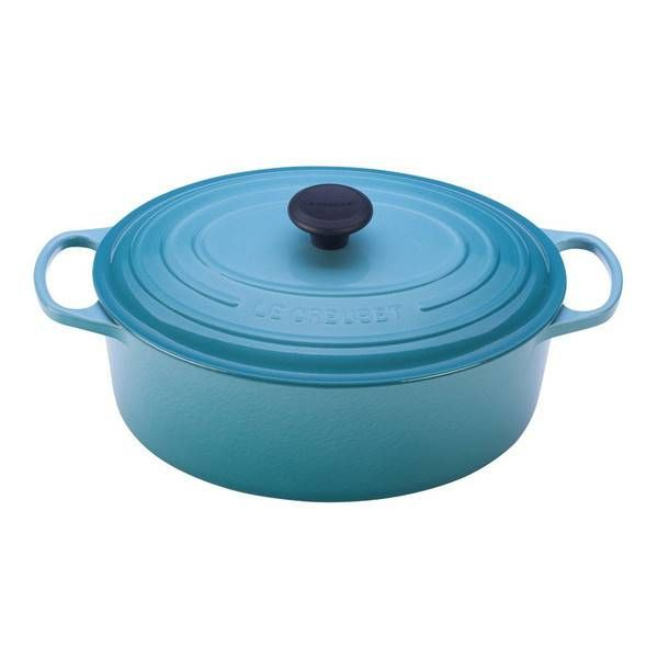 Le Creuset 4.1L Oval French Oven Caribbean